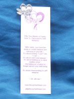 life coach bookmark